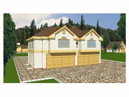 Four Car Garage Plans Plan 012g 0006 Garage Plans And Garage Blue Prints From The