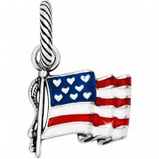 Flags Of The United States Flag Of Freedom Charm Charms