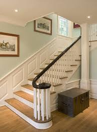 Painting Banisters Ideas Painted Banister Ideas Staircase Traditional With Equestrian Art