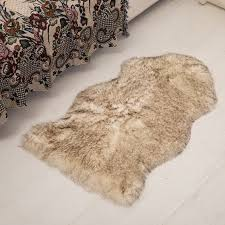 tappeti di pelliccia shop soggiorno tappeto di pelle di pecora copre per la