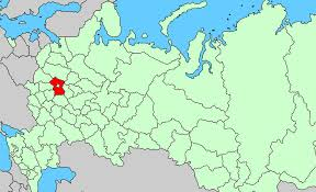 moscow russia map moscow oblast