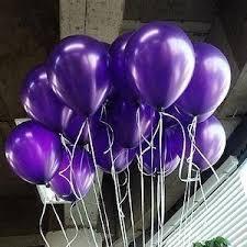 metallic balloons lokman 12 inch ultra thickness purple metallic