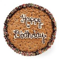 mrs fields cookie cakes mrs fields birthday greetings big cookie cake