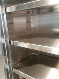 Surplus Storage Cabinets Jamco Kg148 Stainless Steel Cabinet With 5 Shelves U2013 New Surplus