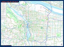 Portland Transit Map by Cycling Portland Theprotocity Comtheprotocity Com