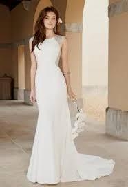 elegant sleek wedding dress naf dresses