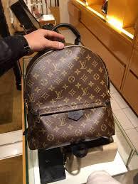 louis vuitton handbags palm lvpalm backpack authentic louis