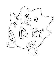 togepi pokemon coloring pages images pokemon images