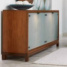 Glass Fronted Sideboards Glass Front Buffet Wayfair