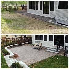 Patio Retaining Wall Pictures Case Study Edina Backyard Sitting Wall And Patio Retreat Kg