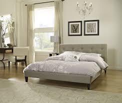 savannah upholstered platform bed