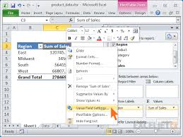 Excel 2010 Pivot Table 23 Things You Should Know About Excel Pivot Tables Exceljet