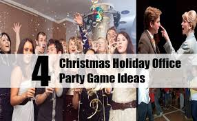 4 christmas holiday office party game ideas bash corner
