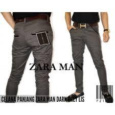 Celana Zara panjang zara chino grey