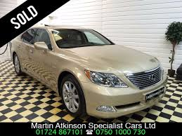 lexus ls automatic parking used lexus ls 460 4 6 v8 se 4dr automatic for sale in scunthorpe