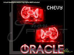 07 13 chevrolet avalanche led halo rings headlights bulbs