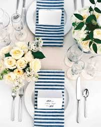 Wedding Reception Table Settings 18 Creative Ways To Set Your Reception Tables Martha Stewart