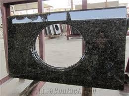 green ubatuba granite home depot bath vanity top from china