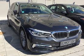 real life photos of the 2017 bmw 5 series touring http www