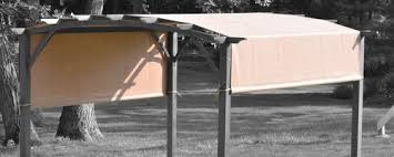 Replacement Pergola Canopy by Replacement Canopy For 913434 And Qd Nf15120 Zj Deluxe Arched