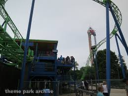 Texas Six Flags Shock Wave At Six Flags Over Texas Theme Park Archive