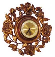syracuse ornamental company antique clock