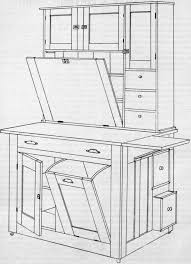 Free Woodworking Plans Kitchen Cabinets by How To Make A Kitchen Cabinet From U0027amateur Work Magazine U0027 C 1902