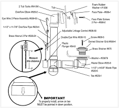 Bathtub Faucet Installation Instructions 7 Bathtub Plumbing Installation Drain Diagrams Bathroom Plumbing