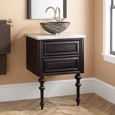 wall mounted sink vanity 24 fania wall mount vessel sink vanity dark cherry bathroom
