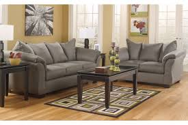 3 piece living room table sets darcy cobblestone 2 pc living room set 7500538 7500535 home