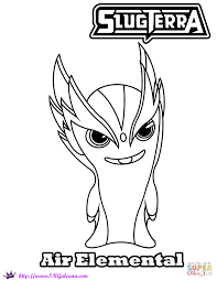 air elemental coloring page free printable coloring pages