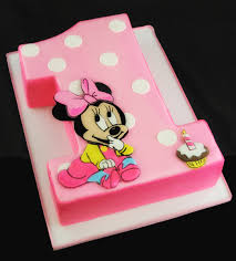 baby minnie mouse birthday cakes awesome party ideas