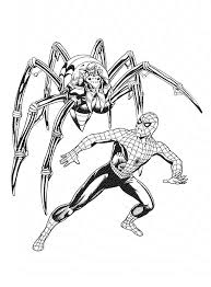 spiderman coloring pages coloringsuite com