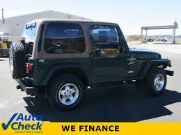 used 2001 jeep wrangler sport pagosa springs co harbison auto