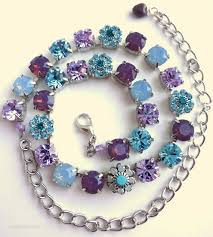 Making Swarovski Jewelry - best 25 swarovski crystal necklace ideas on pinterest crystal