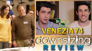 downsizing movie downsizing review viff 2017 youtube