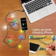 Light Up Iphone Charger Christmas Light Phone Charger On The Hunt