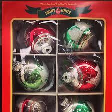 ljcfyi shiny brite glass ornaments