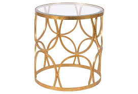 Gold Side Table Interesting Gold Side Table With Gold Side Tables Skin