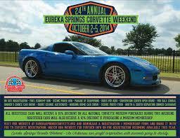 springs corvette weekend eureka springs corvette weekend events central arkansas