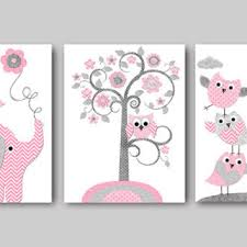 Pink And Gray Nursery Decor Best Pink And Gray Nursery Sets Products On Wanelo