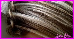 long blonde hair with dark low lights blonde hair with dark brown lowlights livesstar com
