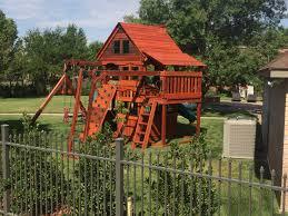 backyard wooden swing sets texas madewesttexasswingsets com
