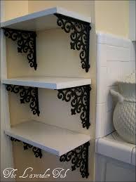 furniture magnificent hanging shelf brackets adjustable shelf