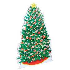 cardboard christmas stand up tree holiday decoration u0026 lollipop tree