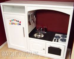 diy cuisine enfant diy play kitchen reveal creative green living