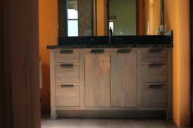 distressed wood bathroom cabinet reclaimed wood bathroom vanity as well as distressed wood bathroom
