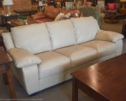 Italsofa Brown Leather Sofa by Italsofa Beige Leather Sofa New England Home Furniture Consignment