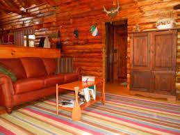 rustic decorating log cabin fox den rd