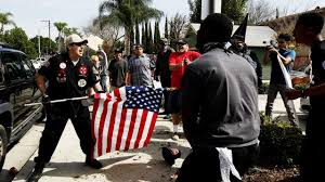 Black Guy With Confederate Flag 3 Stabbed At Kkk Gathering In California Including 1 With Flag
